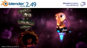 Blender 2.49 Release image (artist: weilynnCG)