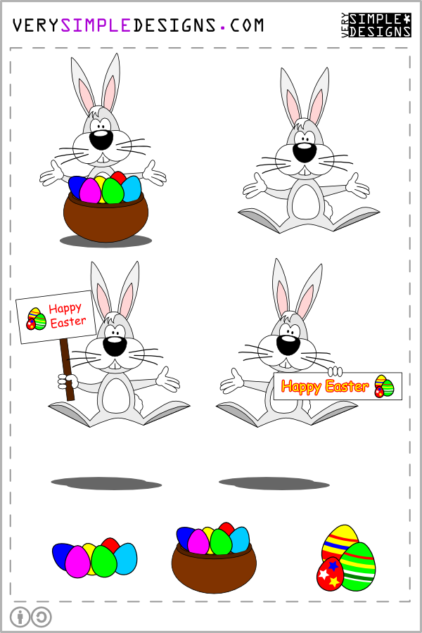 Freebie Easter Bunnies